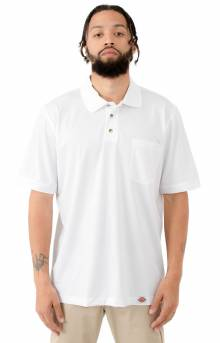 Industrial Performance Polo Shirt - White