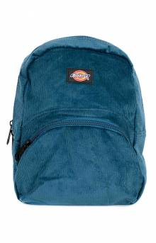 Mini Corduroy Backpack - Navy