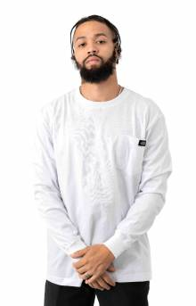 (WL459BK) L/S Heavyweight Shirt - White