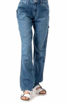 Hi Rise Carpenter Pant - Medium Wash Denim