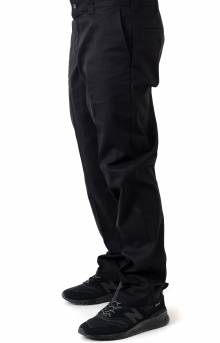 (WP894BK) Dickies '67 Slim Fit Straight Leg Work Pants - Black