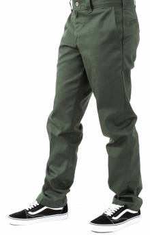(WP894OG) '67 Slim Straight Leg Work Pant - Olive Green
