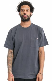 (WS450CH) Short Sleeve Heavy Weight T-Shirt - Charcoal