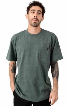 (WS450HGHH) S/S Heavyweight T-Shirt - Hunter Green Heather