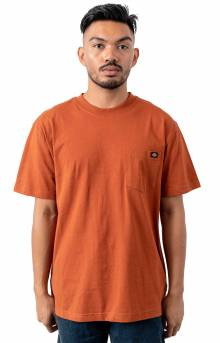 (WS450IE) S/S Heavyweight T-Shirt - Gingerbread Brown