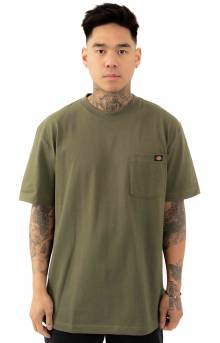 (WS450ML) S/S Heavyweight T-Shirt - Military Green