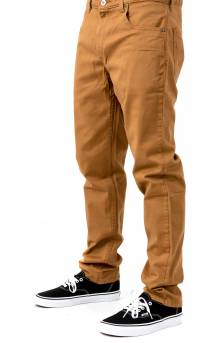 (XD824RBD) X-Series Slim Fit Tapered Leg 5-Pocket Pants - Brown Duck
