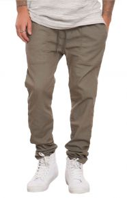 Elwood Clothing, Skinny Tapered Pants - Green
