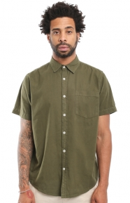 Elwood Clothing, Tailored Fit WKND Button-Up Shirt - Green
