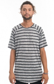 Fairplay Clothing, Patterson Knitted T-Shirt - Black