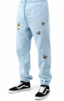Butterfly Sweatpants - Baby Blue