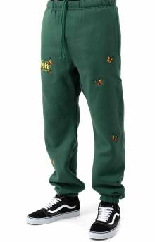 Butterfly Sweatpants - Forest