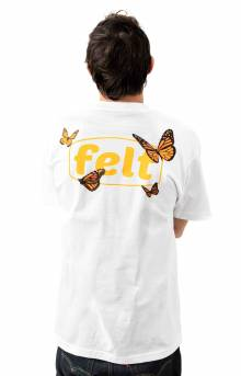 Butterfly Work T-Shirt - White