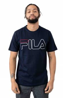 Borough T-Shirt - Navy
