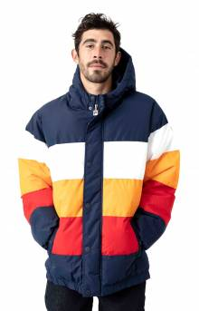 Giovanni Puffa Jacket - Peacoat/White