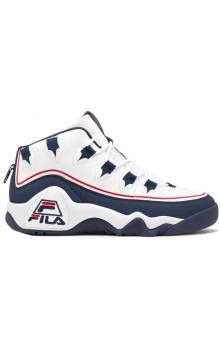 Grant Hill 1 Offset Shoes - White/Navy/Red