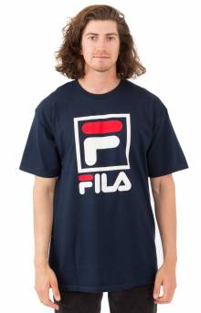 Stacked T-Shirt - Navy
