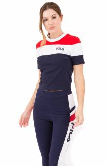FILA Women Maya Crop Tee