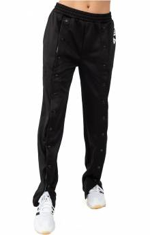 Alice Snap Front Jogger - Black