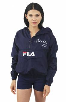 Jana 1/4 Zip Jacket - Navy
