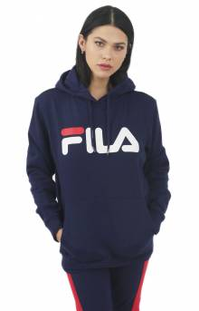 Lucy Pullover Hoodie - Peacoat