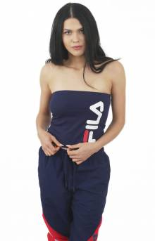 Teodora Banded Top - Navy