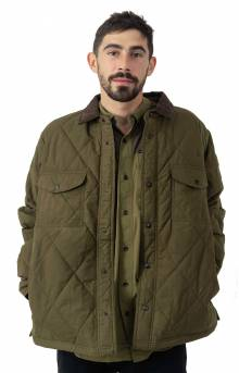 Hyder Quilted Jacket - Marsh Olive