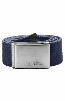 Canvas Belt - Dark Navy