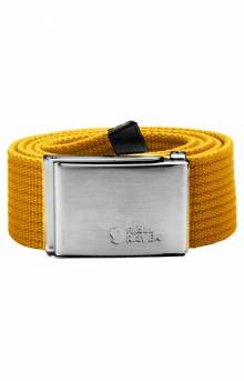 Canvas Belt - Ochre