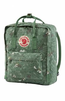 Kanken Art Backpack - Green Fable