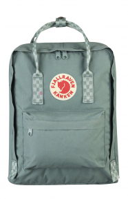 Kanken Backpack - Frost Green/Chess Pattern
