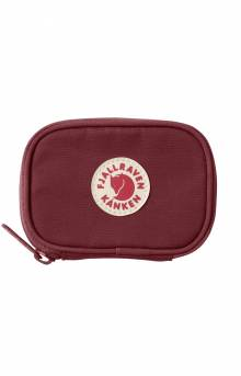 Kanken Card Wallet - Ox Red