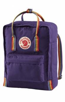 Kanken Rainbow Backpack - Purple/Rainbow