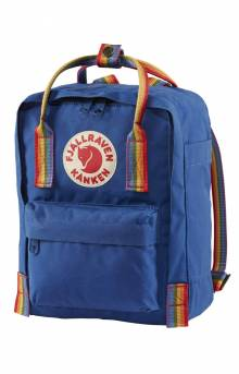 Kanken Rainbow Mini Backpack - Deep Blue/Rainbow