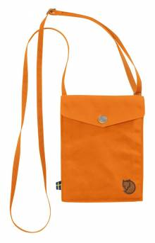 Pocket Shoulder Bag - Seashell Orange
