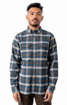 Skog Button-Up Shirt - Glacier Green