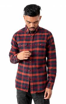 Skog Button-Up Shirt - Navy