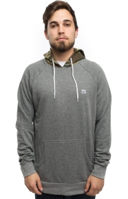 Fourstar Clothing, Collective Contrast Pullover Hoodie - Grey
