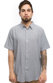 Fourstar Clothing, Collective Oxford Button-Up Shirt - Grey