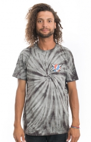 Fourstar Clothing, Jerry Washed T-Shirt - Tie Dye