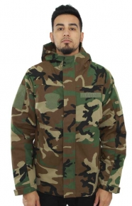 Hooded Military Parka