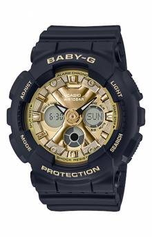 Baby-G BA130-1A3 Watch - Black/Gold