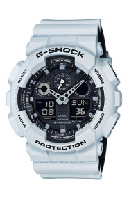 G-Shock Clothing, GA-100L-7A Military Series Watch - White