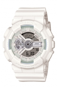 G-Shock Clothing, GA-110BC-7 White Series Watch - White