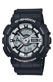 G-Shock Clothing, GA-110BW-1 Black & White Series Watch - Black/White