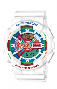 G-Shock Clothing, GA-110MC-7A Crazy Color Series - White/Multi