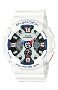 G-Shock Clothing, GA-120TR-7A Tricolor Series Watch - Red/White/Blue