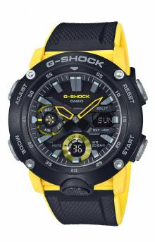 GA2000-1A9 Watch - Black/Yellow