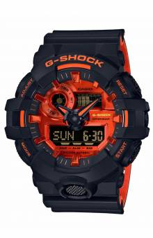 GA700BR-1A Watch - Black/Orange
