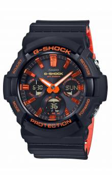 GAS100BR-1A Watch - Black/Orange